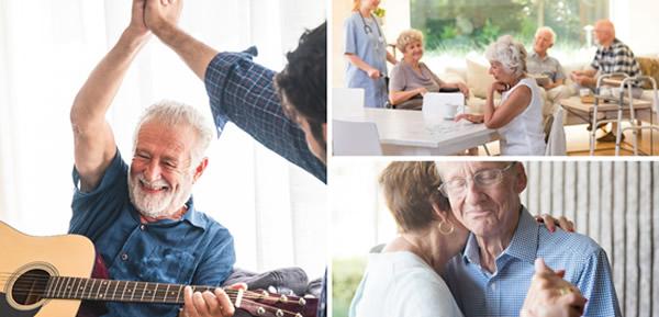 cuidado especial com os idosos